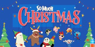 So much Christmas with Cartoon Network