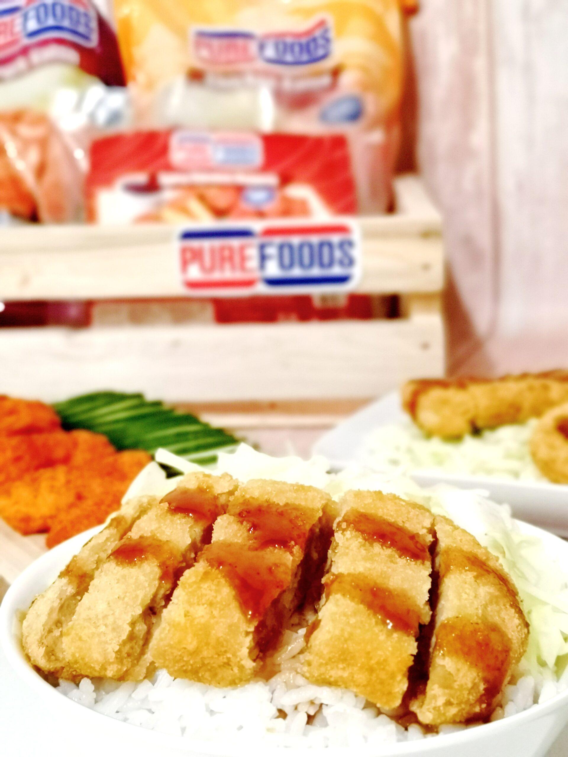 Purefoods Pork Katsu Rice Bowl